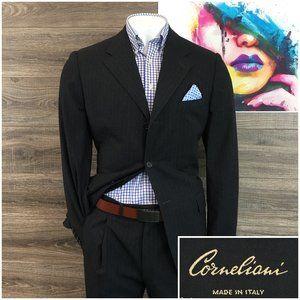 Corneliani Wool 2 Piece Suit Mens 42L Pants W34x31